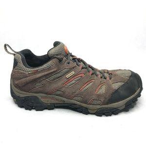 Merrell Espresso Hiking Shoes Waterproof Vibram